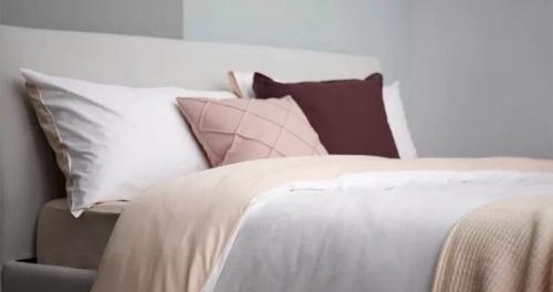 刘苗苗对湖畔彩纱高支4件套床品发布的晒单效果图及评价
